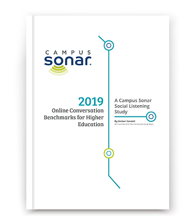 2019 Online Conversation Benchmarks in Higher Education