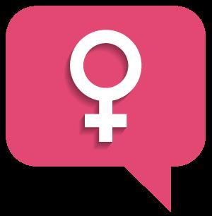 female-symbol-conversation