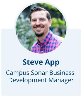 Steve App, Campus Sonar Business Development Manager